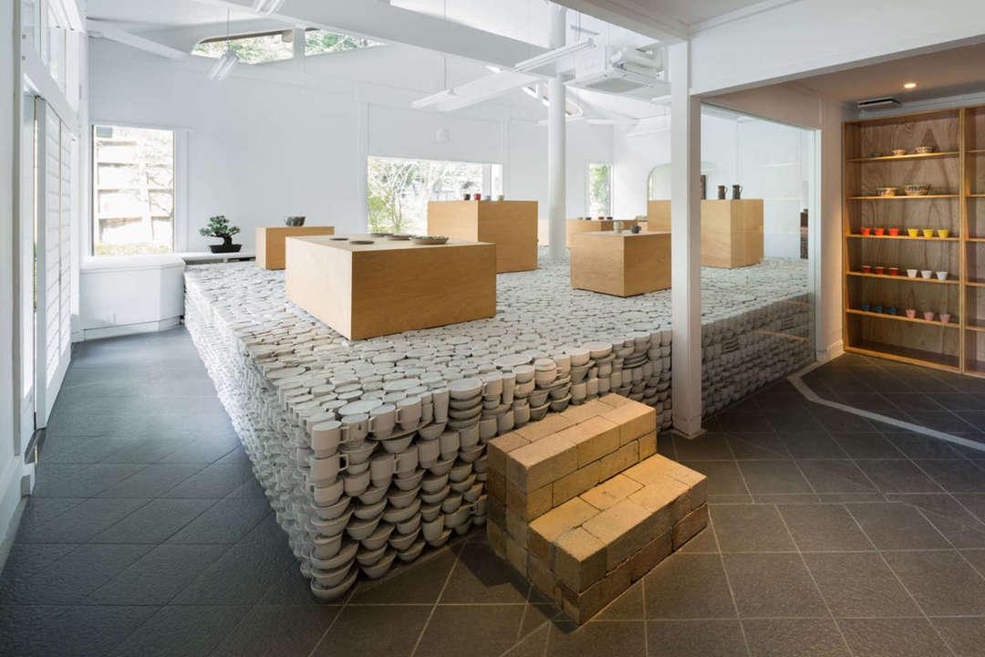 Ceramics Steps Display