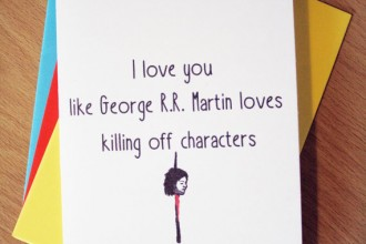 Eh Design Game of Thrones card