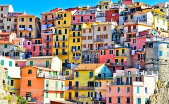 Colourful cities