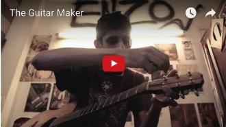 Samir Karnik Guitar Maker video