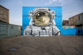 Nevercrew St+art WIP Street Art