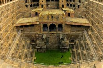 india jaipure chand baori step wells