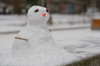 Melting snowman | Travel insurance